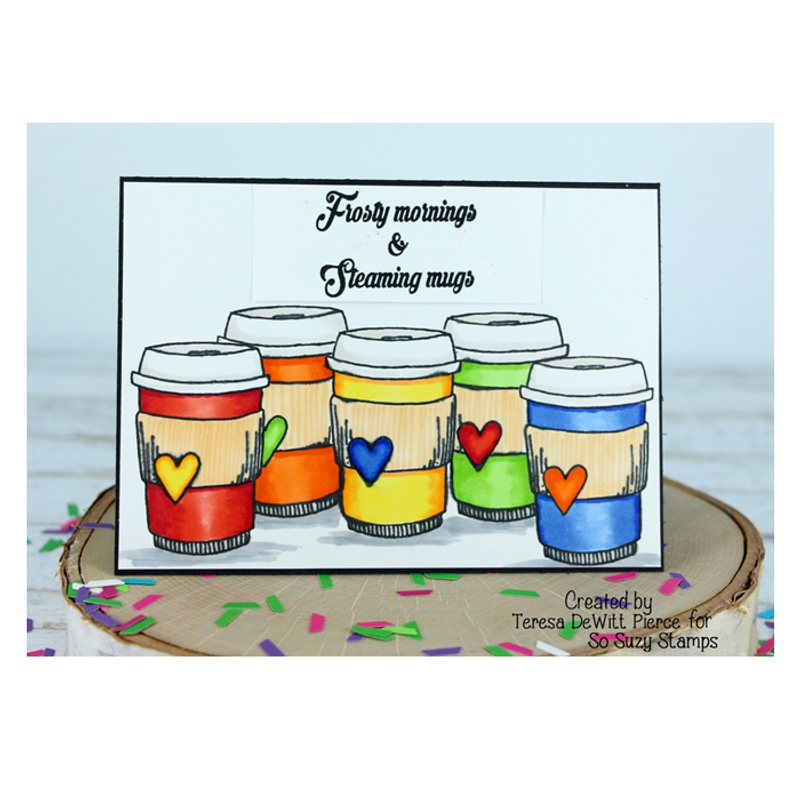 Teresa Coffee Cup Rainbow