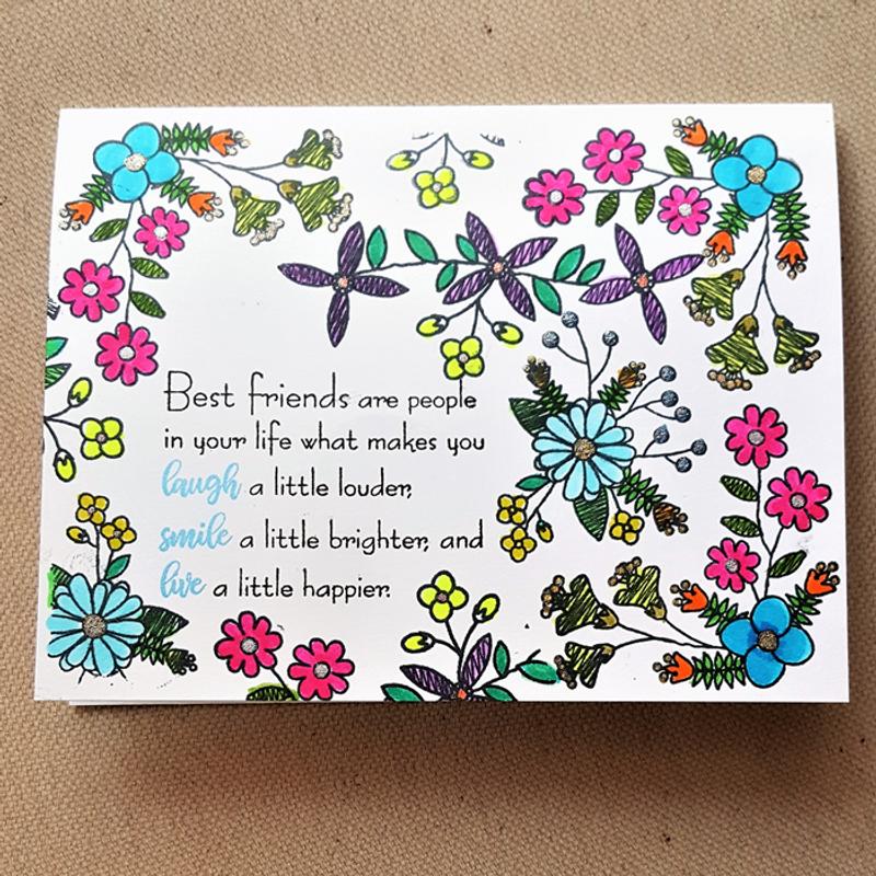 Flower Doodle Friendship