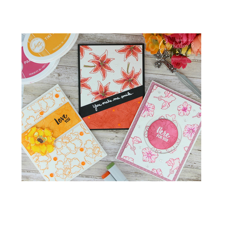 Trio of Floral Cards