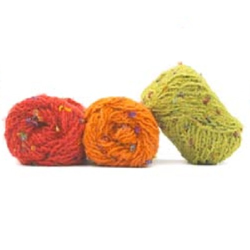 One of our favorite yarns is back from Trendsetter Yarns. It is great for so many projects from baby blankets, throws, scarves and car coats. We can never have enough of this yarn.