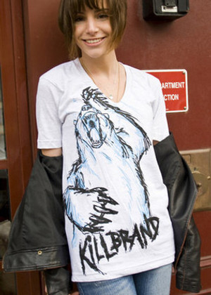 Kill Brand Polar Scare Deep-V T-Shirt