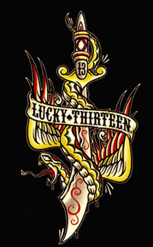 Lucky 13 Flying Dagger T-Shirt