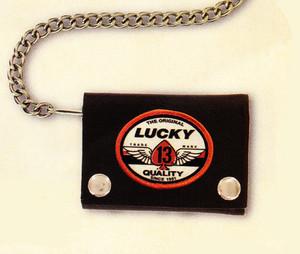 Lucky 13 Spade Mark Wallet