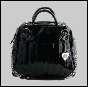 Lux De Ville Black Gambler Bag