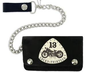 Lucky 13 Old Bike Wallet