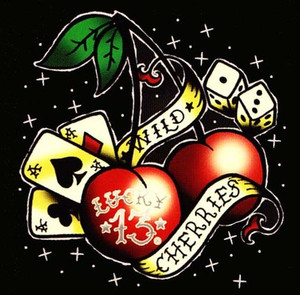 Lucky 13 Wild Cherries T-Shirt