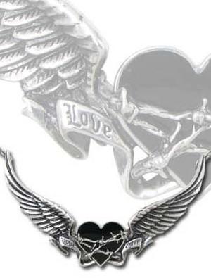 Alchemy Black Romance Pendant