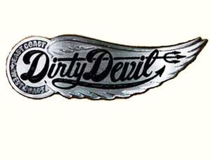 Dirty Devil Winged Wheel Belt Buckle