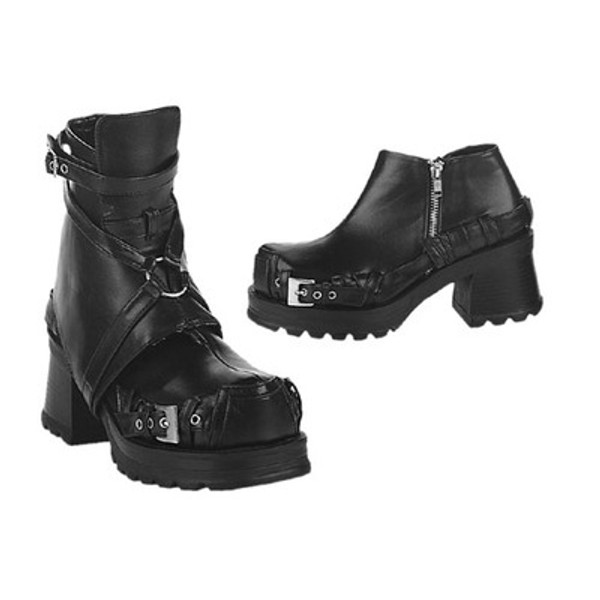 Demonia Pirate Boots - Polyurethane