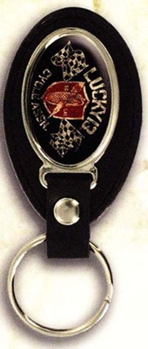 Lucky 13 Cycle Assn. Keychain