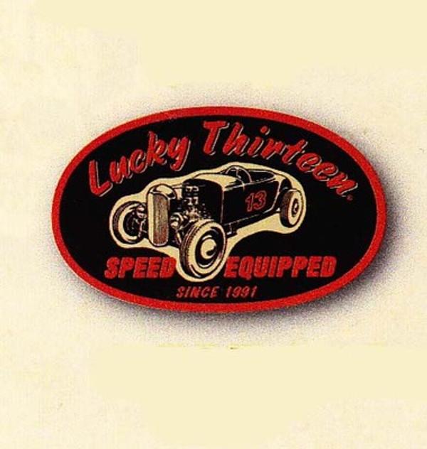 Lucky 13 Roll-A-Flatty Patch