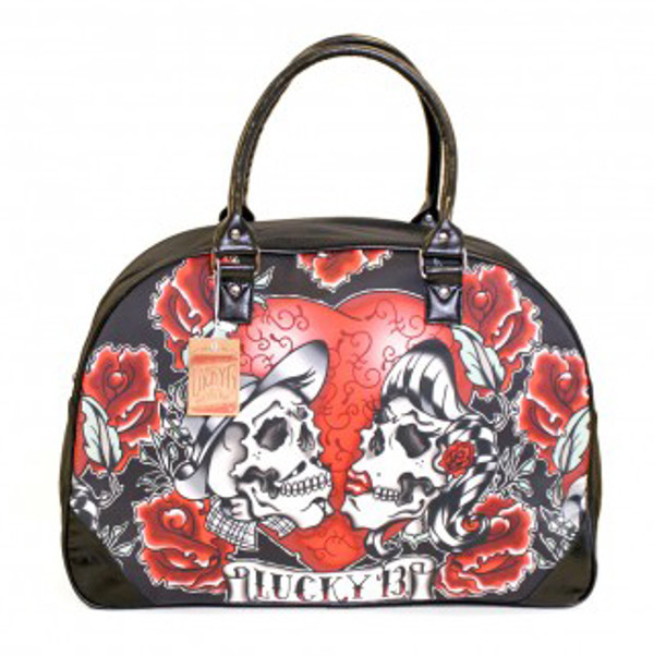 Lucky 13 Los Amantes Travel Bag