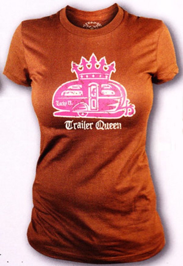 Lucky 13 Trailer Queen Vintage T-Shirt
