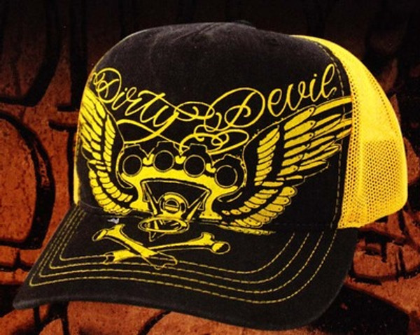 Dirty Devil V8 Knuckles Hat