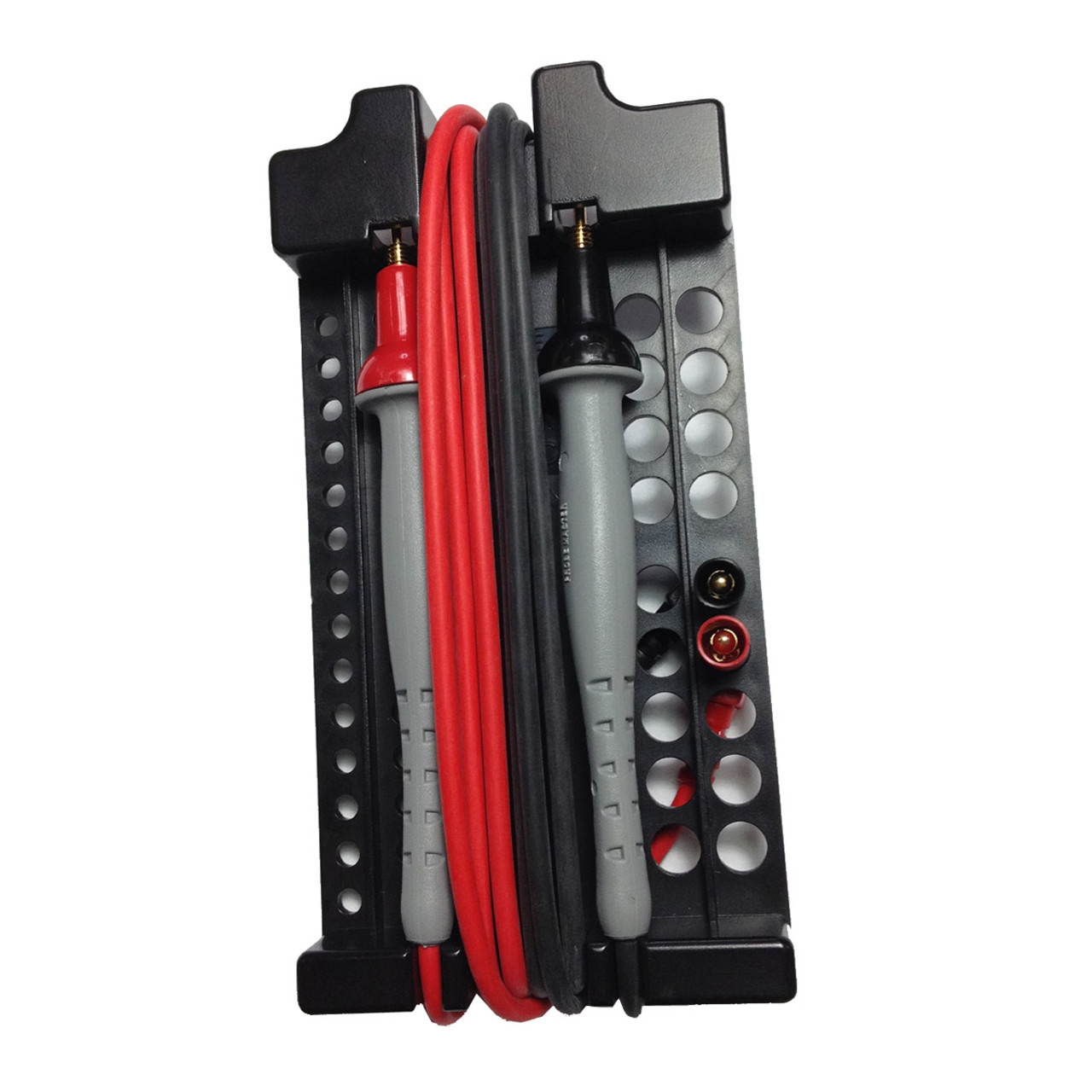 Test leads holders and storage