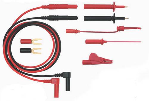Electronic Basic Test Lead Kit Model 9103R, Rt Angle Banana Plug