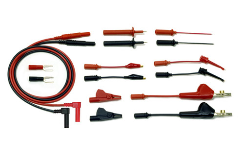 Telecom Test Lead Kit with 5 way phone clip