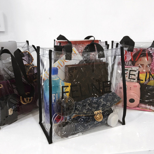 Feline 'Clear Tote'  Ship Date 04/28/18