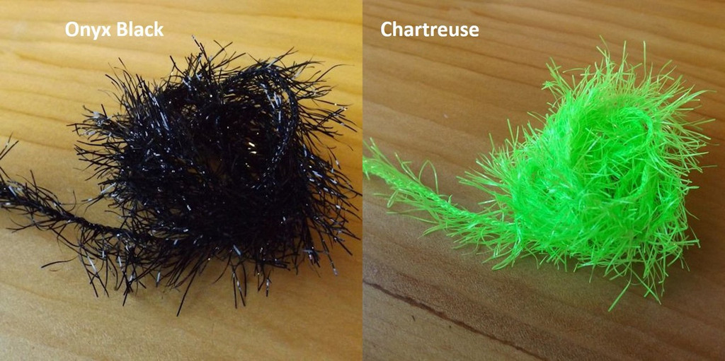 Flybox UK Neon Hackle (12 mm straggle fritz)