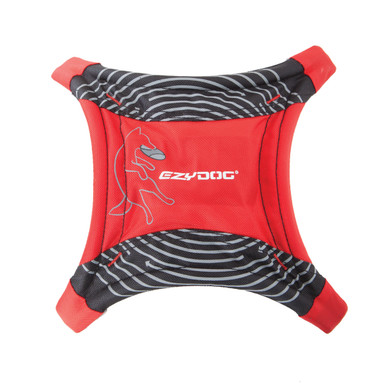 Red - EzyDog DogStar Flying Disc