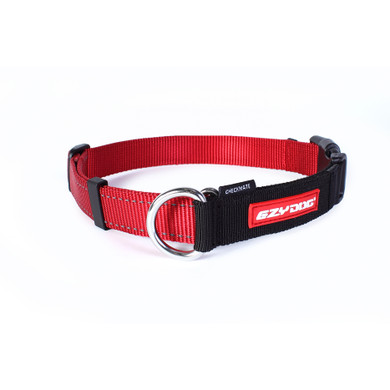 Red - EzyDog Checkmate Collars