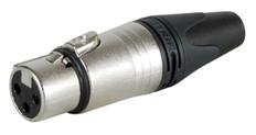 Neutrik XLR 3-pin Jack  NC3FXX