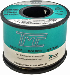 "200g. (Lead-Free) Solder Wire, 0.8mm/0.031""  249901-31TMC1/2"