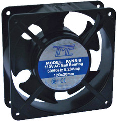 "4.7"" Ball-bearing Fan 110VAC  FAN-5B"