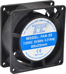 "3.15"" Slim Fan 110VAC  FAN-2S"