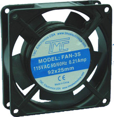 "3.6"" Slim Fan 110VAC  FAN-3S"
