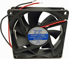 """3.15"""" Slim Fan 12VDC  F80M"""