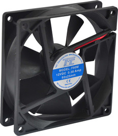 """3.6"""" Slim Fan 12VDC  F90M"""