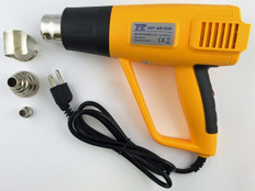 Digital Hot Air Gun 150-1500W, Carrying Case  08-HOTGUN-3LCD