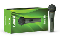 Dynamic Vocal Cardioid Microphone  MC-40