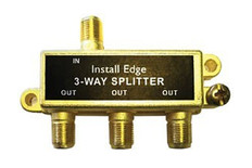 3-Way Gold Splitter  SP-103G