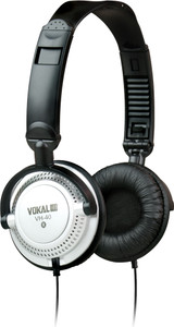 Fully Adjustable Headphones, 3.5mm, Black  VH-40