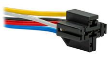 5-Pin Interlocking Relay Socket For 12-24VDC Bosch Type Relay  RELAY-SOCKET