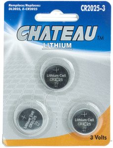 Lithium Battery CR2025 (3pcs)  CR-2025-3