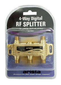 4-Way Gold Splitter 2400MHz  56-1794