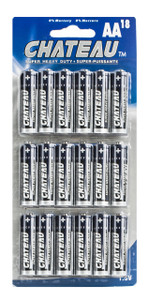 AA Super Heavy Duty Batteries (18pcs)  AA-18CH