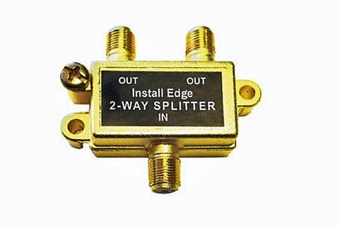 2-Way Gold Splitter  SP-102G