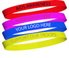 Custom Silicone Bracelets LOWEST PRICES
