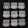 Motorcycle US 66 Pin Package #2A