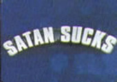 Satan Sucks Lapel Pin