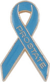 Prostate Cancer Awareness Ribbon Lapel Pin