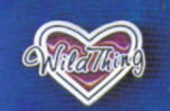 Wild Thing Lapel Pin