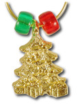 Christmas Tree Wine Charm - Single