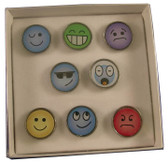 Emoticon Pin Set