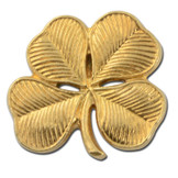 4 Leaf Clover Lapel Pin
