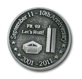 September 11th 10 Year Anniversary Pin
